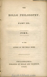 The Rollo Philosophy Part 3 Fire